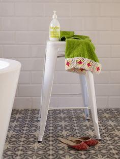 Love the tiles  Sanna & Sania: juni 2012