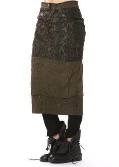 Wenderock von RUNDHOLZ DIP http://dagmarfischermode.de #rundholz #dip #skirt #designer #german #fashion #style #stylish #styles #outfit #shopping #lagenlook #oversize #dagmarfischermode #shop #outfit #cool #autumn #fall #winter #mode #extravagant