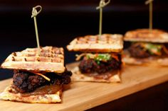 Chicken and Waffle Sliders | 19 Mouthwatering Burgers That Will Leave You Speechless
