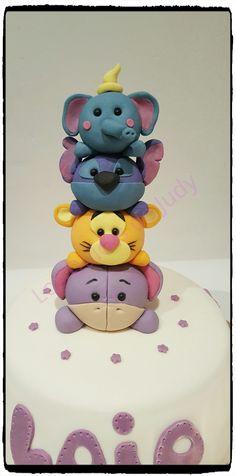 Tsum Tsum Avengers Cake Pops