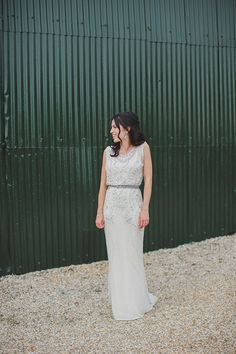 Angela and Sean's real life wedding at Upwaltham Barns   CHWV