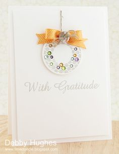 with gratitude - Lime Doodle Design