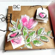 Journal Pages, Different Colors, Stamps, Cards, Nike, Google, Tulips, Seals, Maps