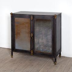 Broc Handmade Metal Cabinet (India) - Overstock™ Shopping - Top Rated Media/Bookshelves