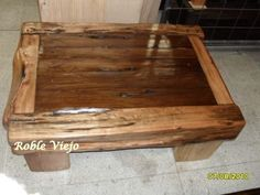 mesas de centro rusticas - Buscar con Google