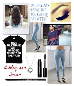 """Walking through the mall"" by pattynavarro on Polyvore featuring Bullhead Denim Co., Bobbi Brown Cosmetics, tarte, Pandora, women's clothing, women's fashion, women, female, woman and misses"