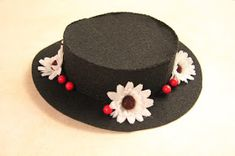 Clearwater Cottage: How to Make a Mary Poppins' Hat and Bird Umbrella