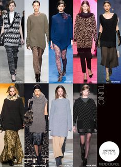 Guessing large over sized jumpers are in.                                                 Knitwear Fall / Winter 14 / 15 | Tunic
