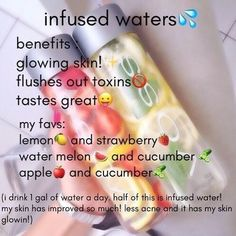 Organic Detox Water selections for you DIY – Healthy Detox Drinks DIY – Food: Veggie tables Healthy Water, Healthy Detox, Healthy Smoothies, Healthy Drinks, Healthy Life, Healthy Recipes, Juice Recipes, Green Smoothies, Salad Recipes