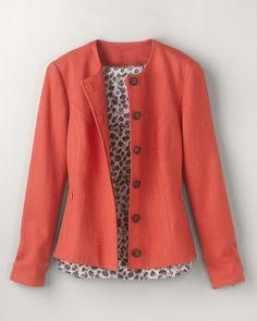 Metropolitan shaped jacket
