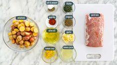 Lemon Garlic Pork Roast - Jo Cooks Pork Roast, Pork Chops, Pork Loin Recipes Oven, Jo Cooks, Garlic, Lemon, Stuffed Peppers, Dishes, My Favorite Things