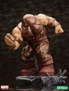 Marvel Comics Juggernaut – Danger Room Sessions – Fine Art Statue Revealed