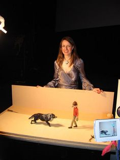 Suzie Templeton with Peter and the wolf