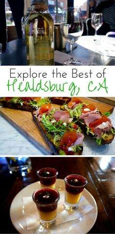 Find places to eat, tasting rooms to visit and more of the best of Healdsburg with Savor Healdsburg food tour.
