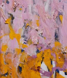 JOAN MITCHELL, 'Two Pianos', 1980, oil on canvas, diptych, 110 x 142 in, estate of Joan Mitchell. Detail - upper left of right canvas