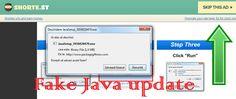 Cyber Security & Hacking News – Fake Java Update – Malware analysis