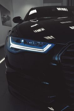 Audi A6 [Cars - Headlights - Photography]
