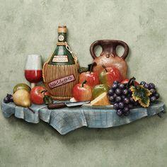 Italian Feast Kitchen Wall Plaque