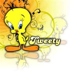 42 Trendy Yellow Bird Tattoo Little Looney Tunes Wallpaper, Tweety Bird Quotes, Sylvester The Cat, Black Bird Tattoo, Tattoo Bird, Baby Looney Tunes, Bird Template, Bird Graphic, Halloween Wallpaper