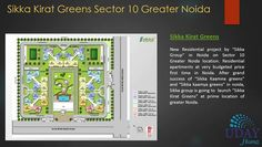 Sikka Kirat Greens is a newly launched project by Sikka Group situated at sector 10 Noida. This project offers 1,2 and 3 BHK Residential project.
