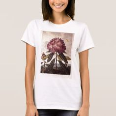 Book Illustration of a Pontic Rhododendron T-Shirt