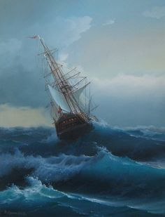 The Relief of the Investigator, 1853 by Mark Richard Myers Ship Paintings, Landscape Paintings, Moby Dick, Stormy Sea, Stormy Waters, Sea Storm, Old Sailing Ships, Ship Drawing, Boat Painting