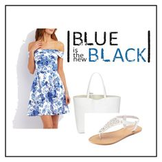"""""""sky blue"""" by disa-fashion ❤ liked on Polyvore featuring Charlotte Russe and SONOMA Goods for Life"""