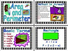 Perimeter and area song