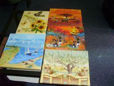 dekupážové obrázky Painting, Art, Painting Art, Paintings, Kunst, Paint, Draw, Art Education, Artworks
