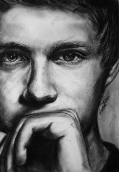 Niall Horan - Sketching by Luna Perri in drawings at touchtalent