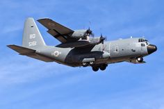 https://flic.kr/p/R9QNig | JERSEY TRASH (HAULER) | A C-130T from VR-64 'Condors,' a Navy Reserve squadron out of Lakehurst, New Jersey, arrives at Davis-Monthan Air Force Base. Almost ten years of chasing airplanes with a camera and this is the first Navy Herk I've shot.