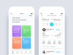 TakeCare - Shipping App Nimasha Perera https://dribbble.com/shots/4017723-TakeCare-Shipping-App