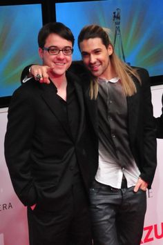 David garrett live in Berlin  from: David Garrett Official Forum     With his brother