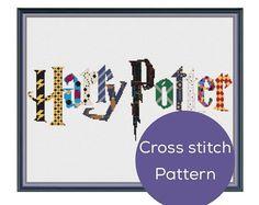 Harry Potter Cross Stitch Pattern