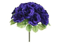 Purple! for the extra bouquet and grandma's