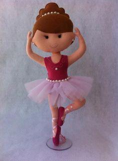 Bailarinas em Feltro - Decoração                                                                                                                                                      Mais