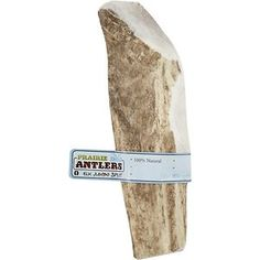Prairie Dog Elk Antler Split Dog Chews Jumbo