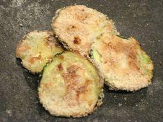 Zuchini Chips with Spicy Salsa