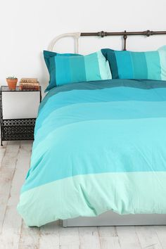 Tonal Stripe Duvet Cover