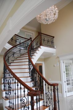 Foyer ideas-beautiful railings