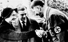 Duke and Duchess of Windsor meet Hitler