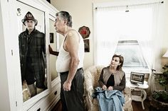 This portrait series by Tom Hussey captures how we remain ourselves, even as our bodies age.