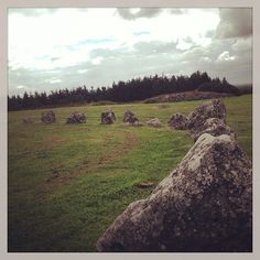 Breaghmore Stone Circles in County Tyrone