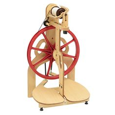 Schacht Ladybug Spinning Wheel, American Made Spinning Wheel, Double Treadle, Easy Carry Handles, Single or Double Drive, Entry Level to Pro by PhoenixFarmFiber on Etsy