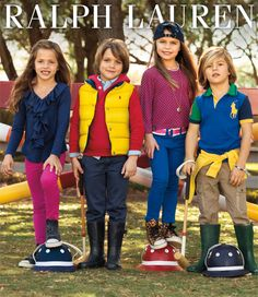 RL Instant Style.Easy outfits packed with personality for back to school and beyond. #belk #kids