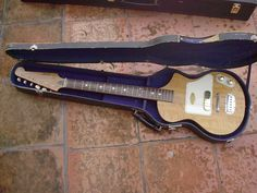 Vox 'Shadow' LG-40 from 1959, built by Guyatone
