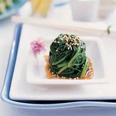 Sesame Spinach Salad Recipe | MyRecipes.com
