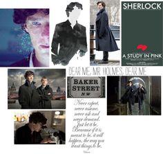 """""""Sherlock"""" by hope4 ❤ liked on Polyvore"""