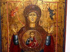 икона Божией Матери «Знамение» | Ярмарка Мастеров - ручная работа, handmade