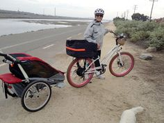 """TAM, a Motiv Customer  """"It's like a mobile home. Haha. Got 30 miles today going from Fountain Valley to Long Beach and back. Could probably squeeze another few miles out of it. Without the trailer we got 50+ miles over the last few rides."""""""